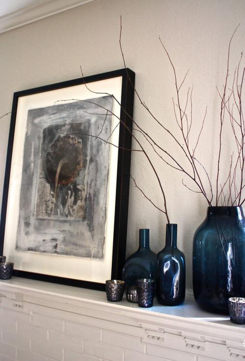Living Room Mantle Detail